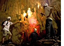 guided tour inside barra honda caverns