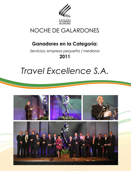 Travel Excellence award
