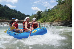 Costa Rica Rafting Adventure Travel