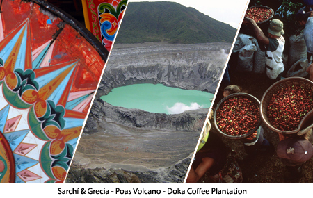 Sarch&iacute; & Grecia &ndash; Poas Volcano &ndash; Doka Coffee Plantation