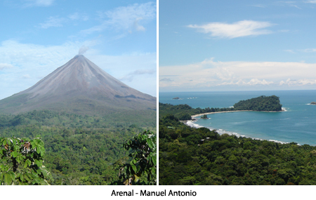 Arenal &minus; Manuel Antonio