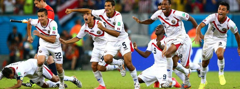 Costa Rica have qualified for the quarter-finals of the World Cup