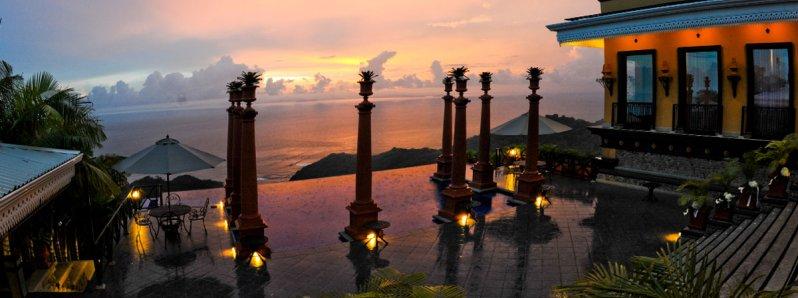 The luxury of Villa Caletas in the mid Pacific Costa Rica