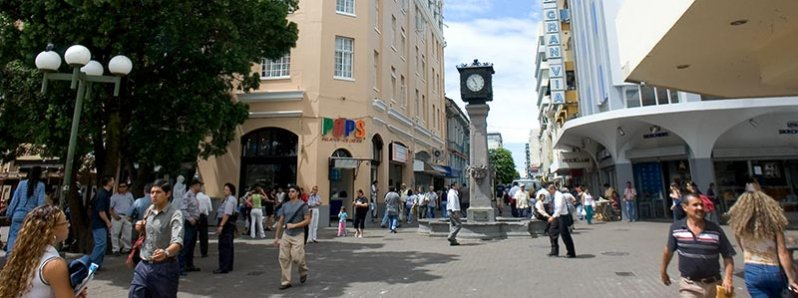 According to a study by MasterCard, San Jose is among the most visited cities in Latin America