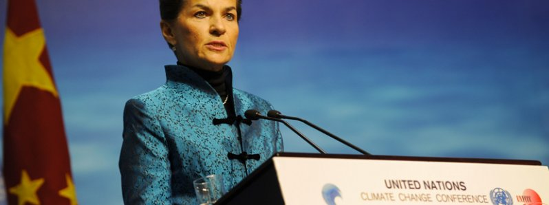 Christiana Figueres nominated for the post of General Secretary of the United Nations by the Government of Costa Rica