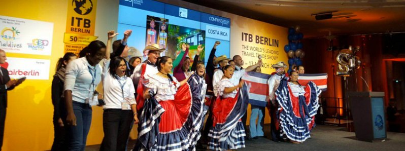 Costa Rica: Best Tourist Stand of America and the world in ITB, Germany