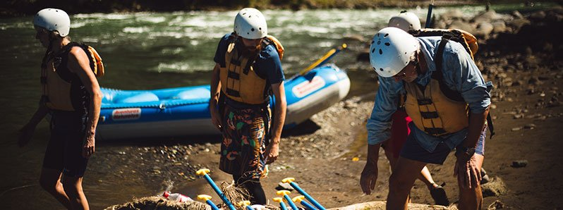 Rivers for White Water Rafting Vacations Tours in Costa Rica