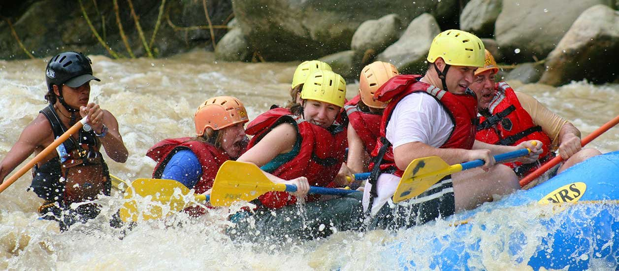 Naranjo River Rafting Tour From Jaco