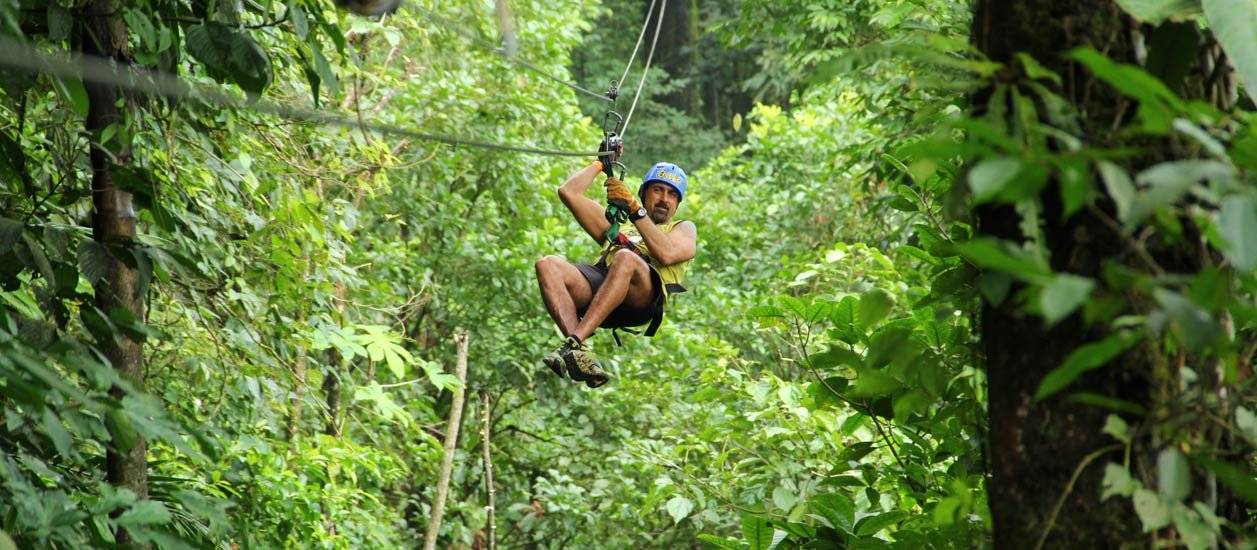 Arenal Ecoglide Park Canopy Tour Costa Rica