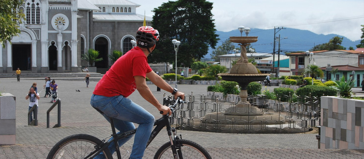 Bike And Train From Cartago