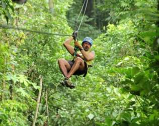 Parque Arenal Ecoglide Canopy Tour Costa Rica