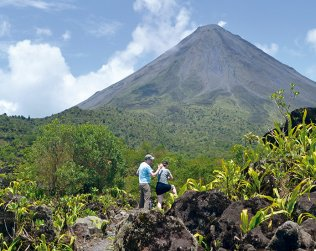 Arenal Trekking 1968 (a.m. Only) From Fortuna Hotels