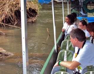 Paseo En Bote Por El Río Sarapiquí
