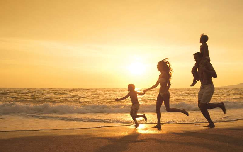 Family vacationing in Costa Rica