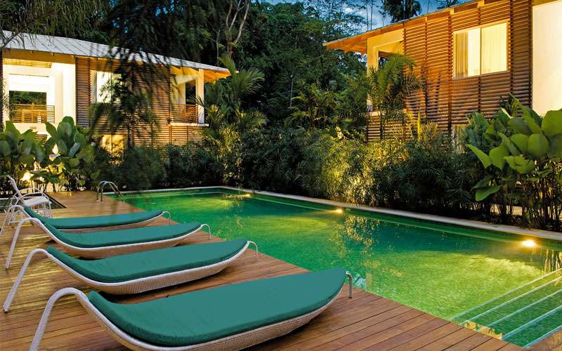 Le Cameleon Hotel luxury resort, Caribbean Coast, Costa Rica