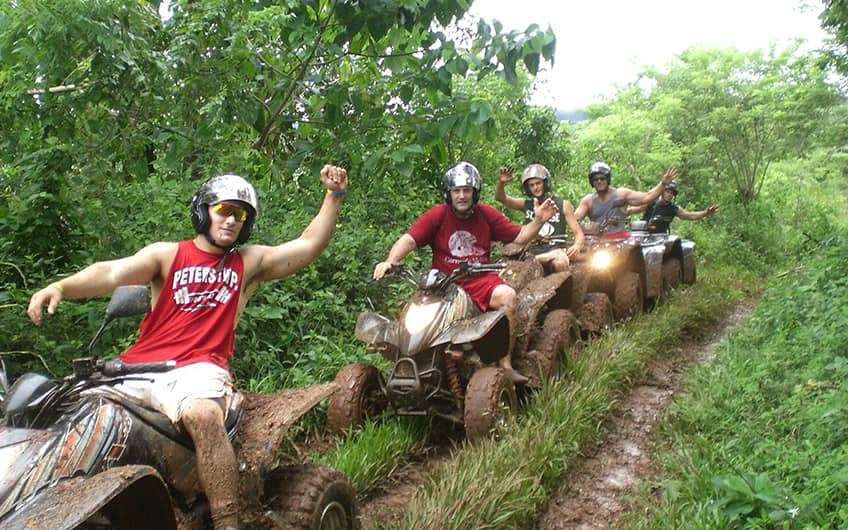 Jaco Beach Costa Rica, ATV Tour