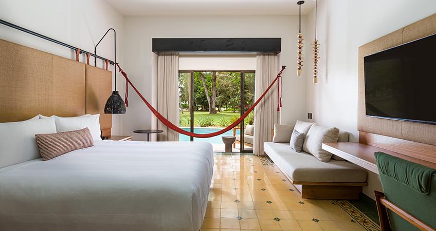 New Swim Up guestrooms at Los Sueños Marriott Hotel