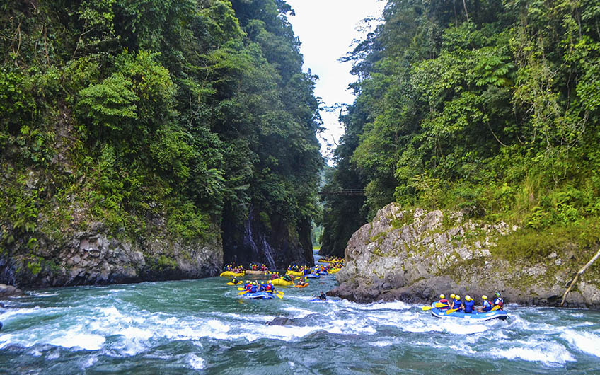 Costa Rica will host the first World White Water Rafting Summit