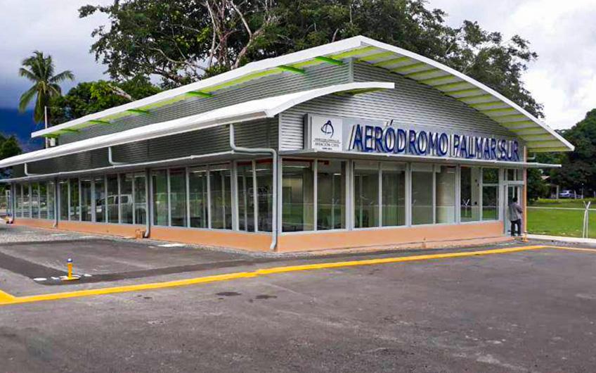 Palmar Sur Airstrip reopening