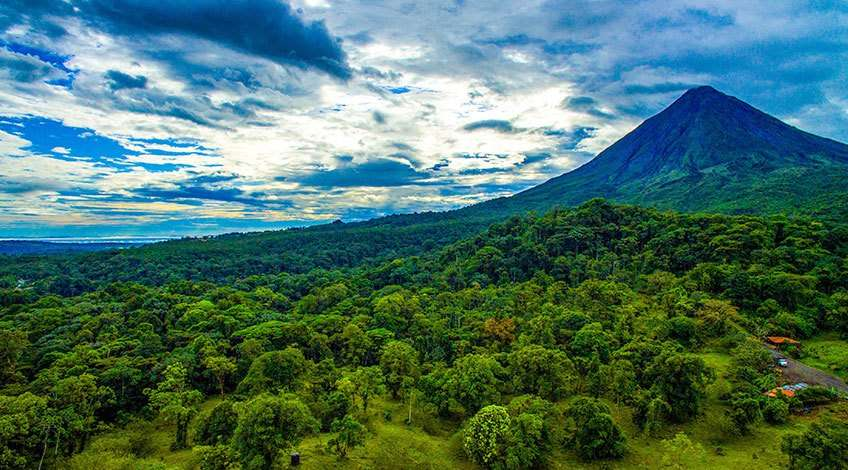 Arenal Volcano in Fortuna Costa Rica