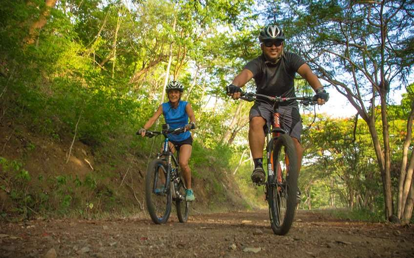One of the funniest Guanacaste excursions are the mountain bike rides, as it is a great form to enjoy the views and keep the shape!