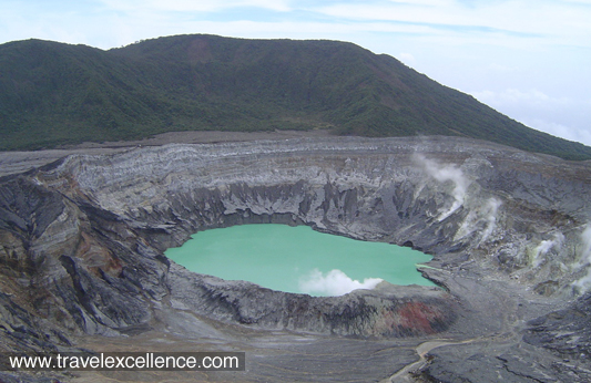 The highest volcano in the country is the Irazú Volcano