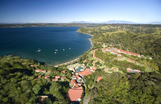 aerial view of hilton papagayo resort costa rica