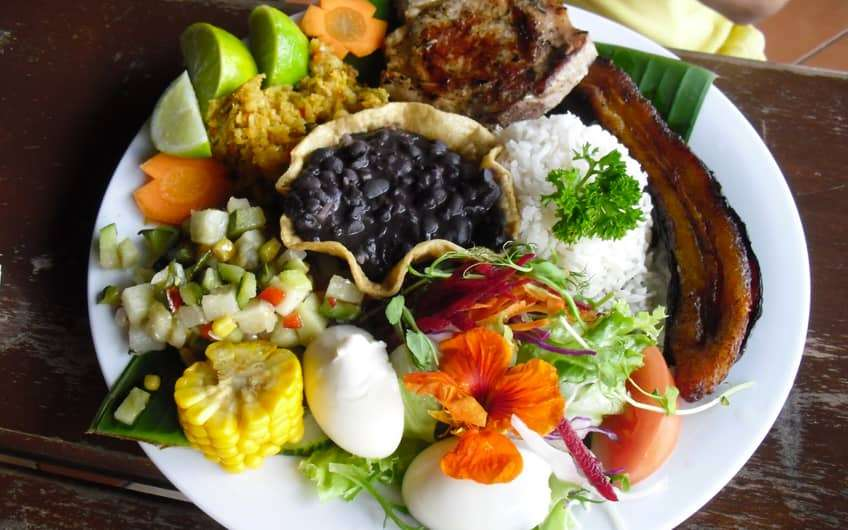 Costa Rica Food The Traditional Casado And More Typical