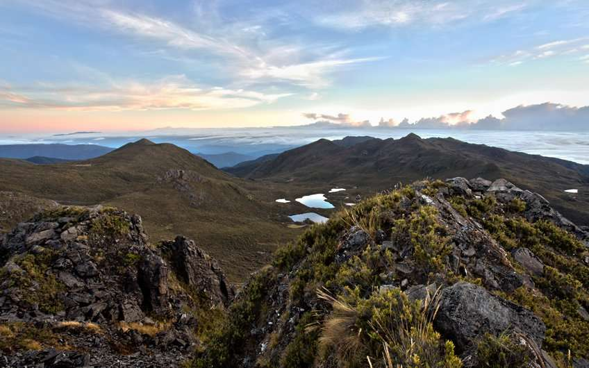 Chirripó is the 38th most prominent peak in the world. This makes it an ideal spot for hikers and nature lovers alike which climb it throughout the year.