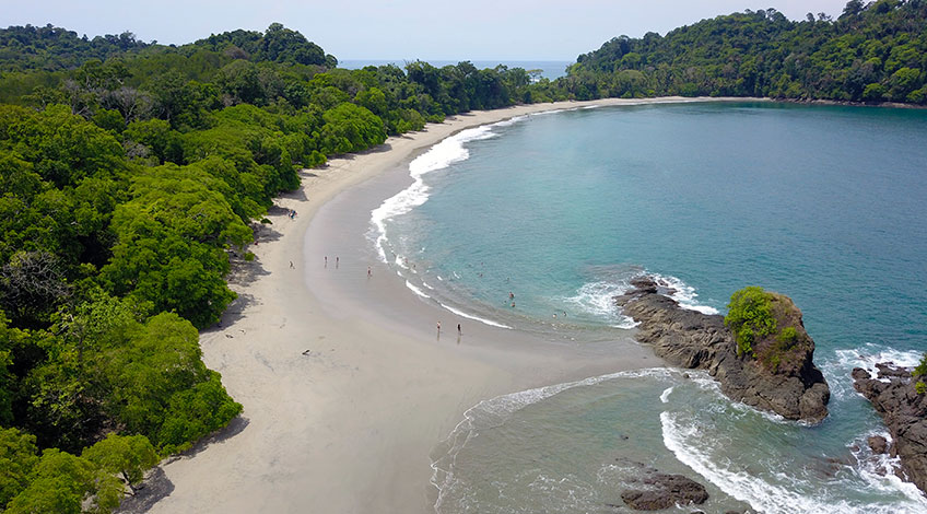 Costa Rica: a great destination for Convention Tourism Manuel Antonio Beach