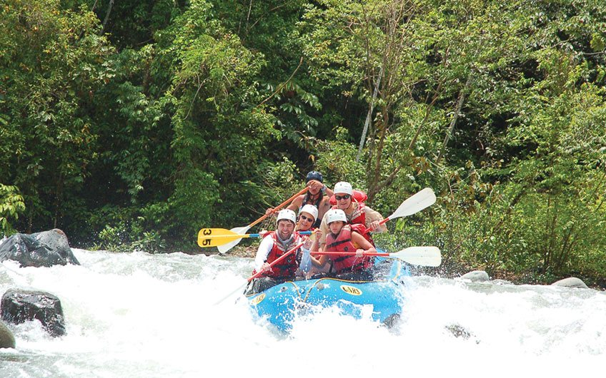 Rafting, Making Costa Rica Travel Plans