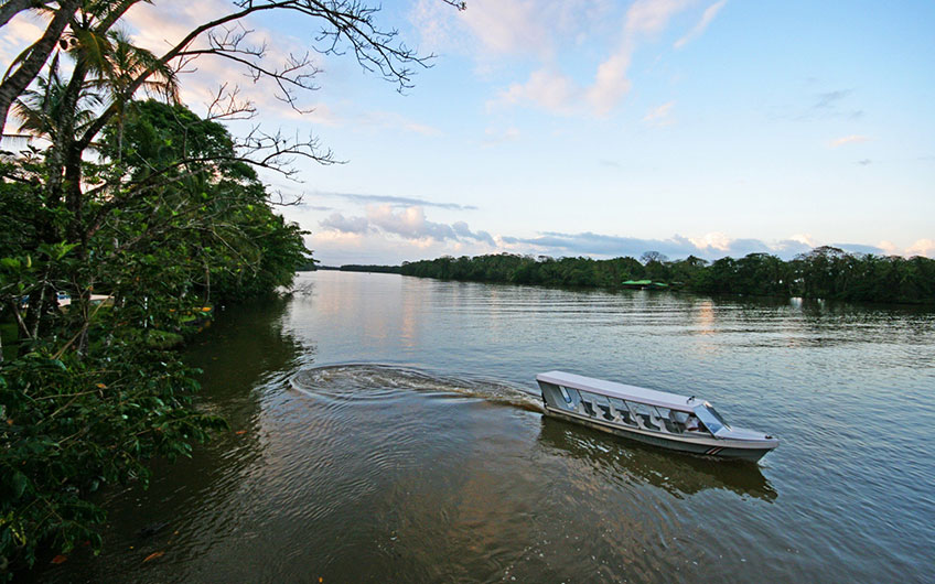 Canals in Tortuguero Park and Canal