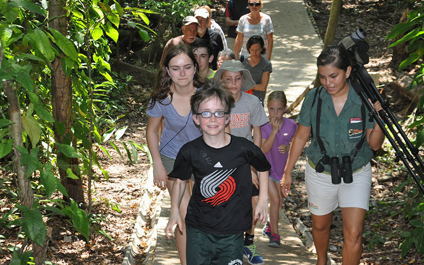 Manuel Antonio National Park, Travelling with children in Costa Rica