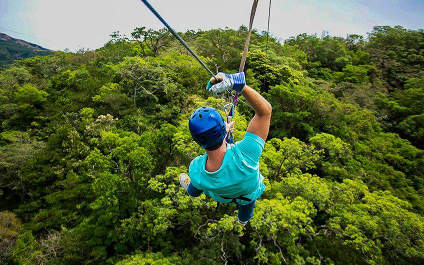 Costa Rica Canopy Tours adventure in Guanacaste