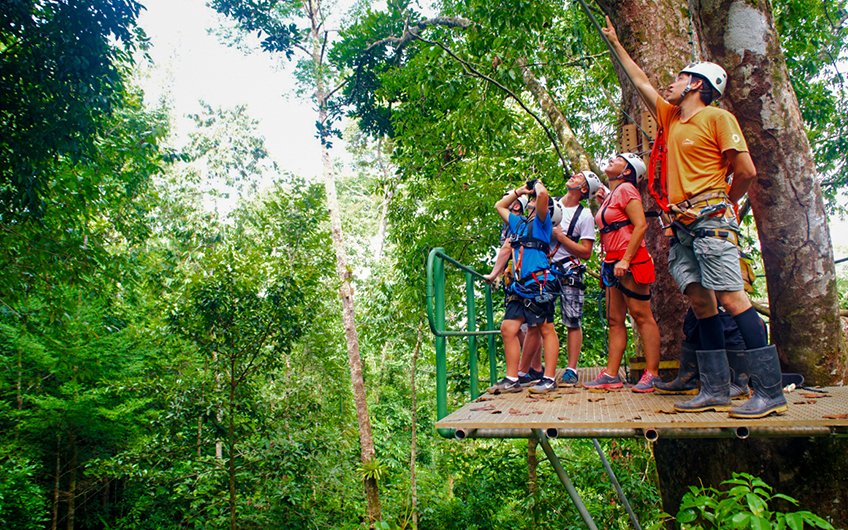 Costa Rica Canopy Tours adventure in Fortuna - Arenal Volcano