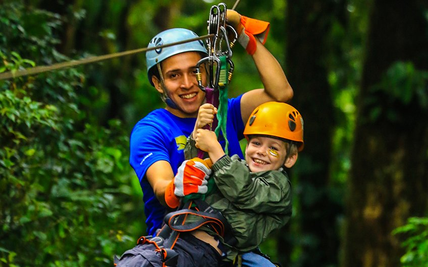 Costa Rica Canopy Tours adventure in Sarapiqui