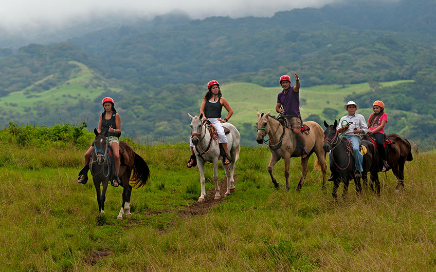 Costa Rica A Haven For Family Vacations Horseback Ride