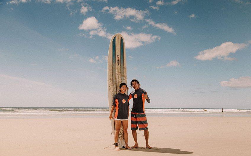 Costa Rica Surfing Map most popular surfing destinations Tamarindo beach