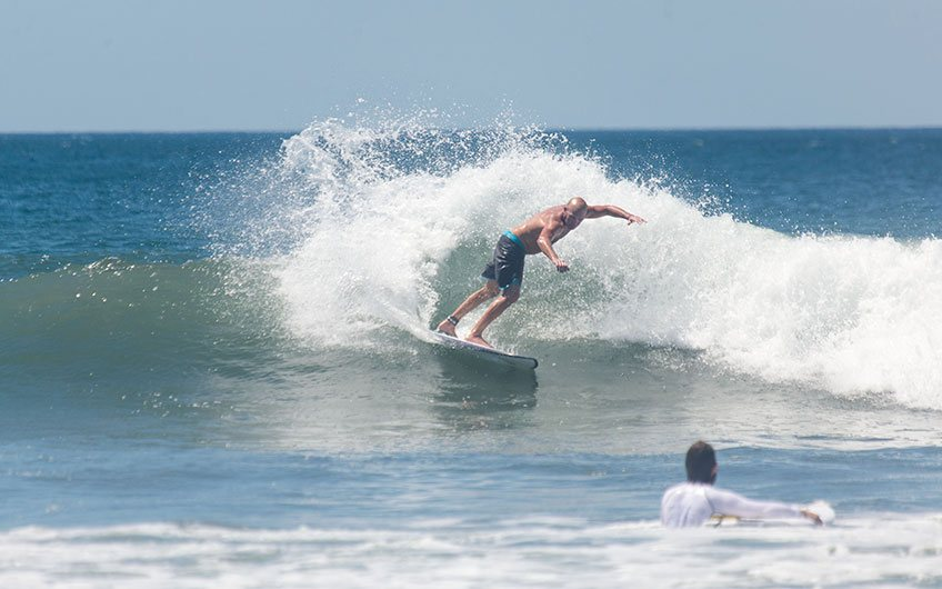 Costa Rica Surfing Map most popular surfing destinations Nosara Beach