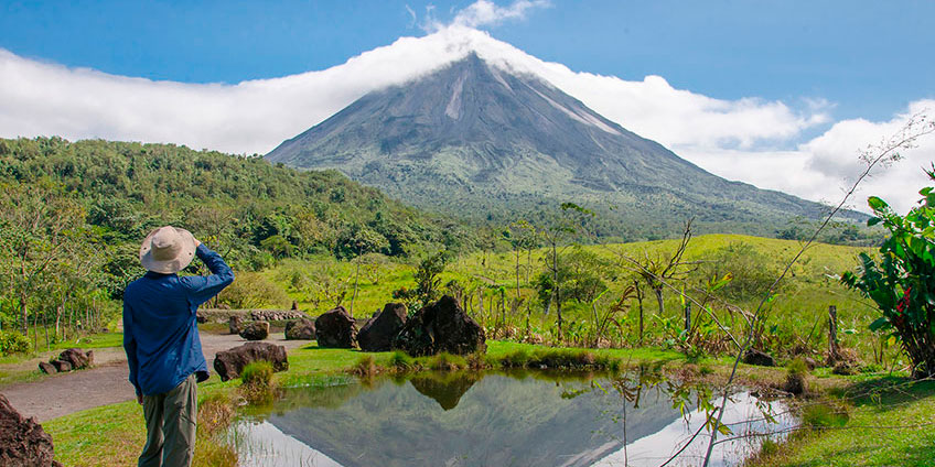Arenal Volcano National Park, Costa Rica Protected Area Map