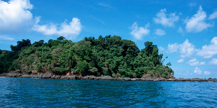 Caño Island Biologic Reserve, Costa Rica Protected Area Map