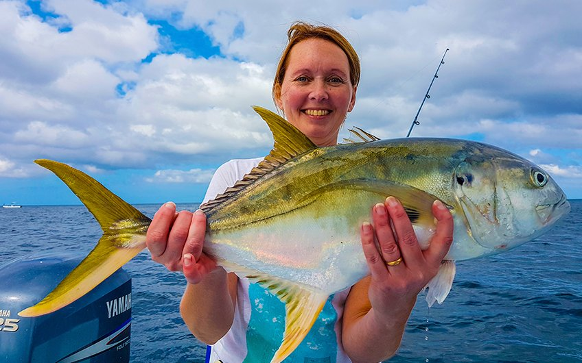 Costa Rica Sport Fishing Map Northern Pacific Coast Fishing