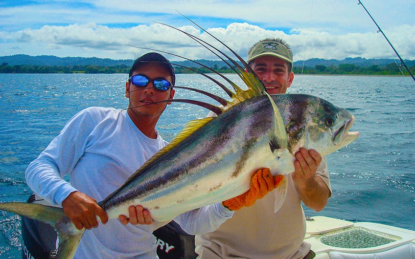 Costa Rica Sport Fishing Map Southern Pacific Coast Fishing