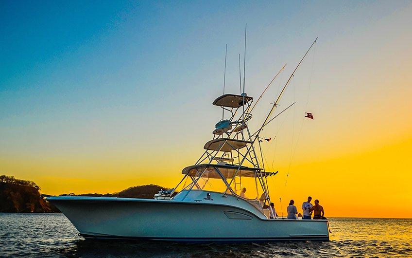 Costa Rica Sport Fishing Map Caribbean Coast Fishing