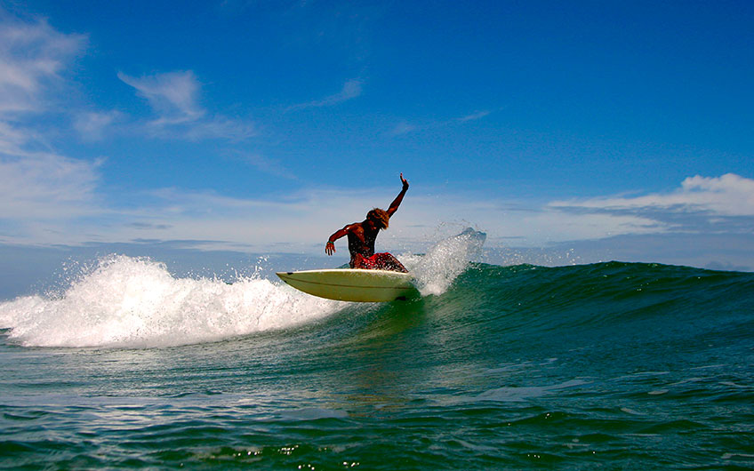 Costa Rica surf: the heaven is located here between two seas Caribbean Coast