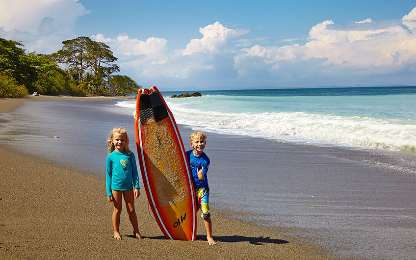 Costa Rica surf: the heaven is located here between two seas
