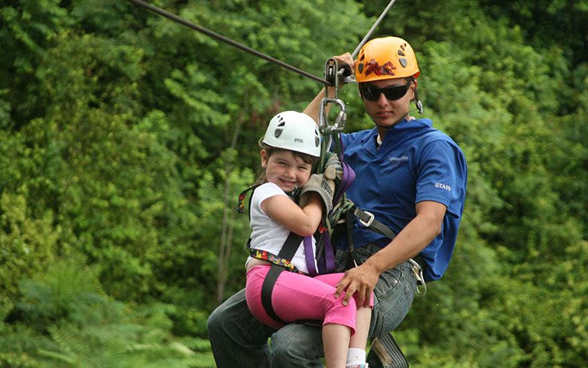 Canopy Tour in Manuel Antonio Costa Rica