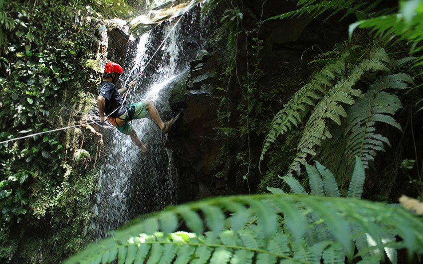 Canyoning and Canopy - Guayabo National Monument