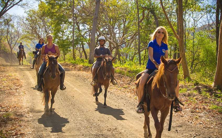 Horseback riding Costa Rica Guanacaste is a good way to spend sunny days and appreciate the landscapes. People always ask about these tours and attractions!