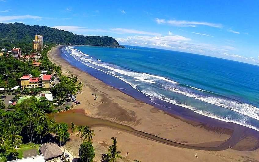 Jaco Beach Costa Rica, Drone View
